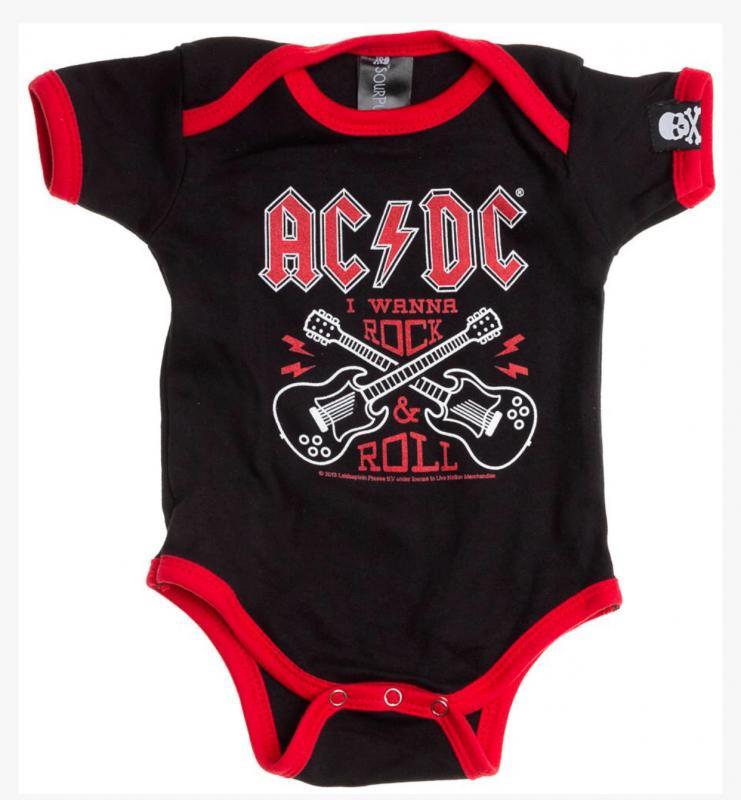 Body, AC/DC, Röd/Svart