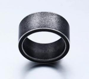 Ring i Titanium, Grå/svart