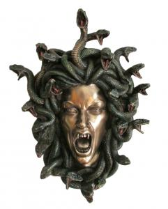 Väggdekoration, Head of Medusa