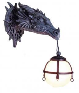 Drake lampa Design, Gothic