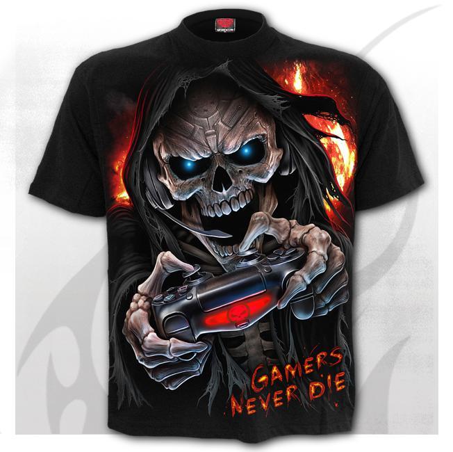 T-shirt, Spiral, Respawn