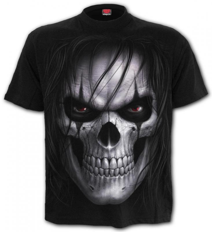 T-shirt, Spiral, Night Stalker