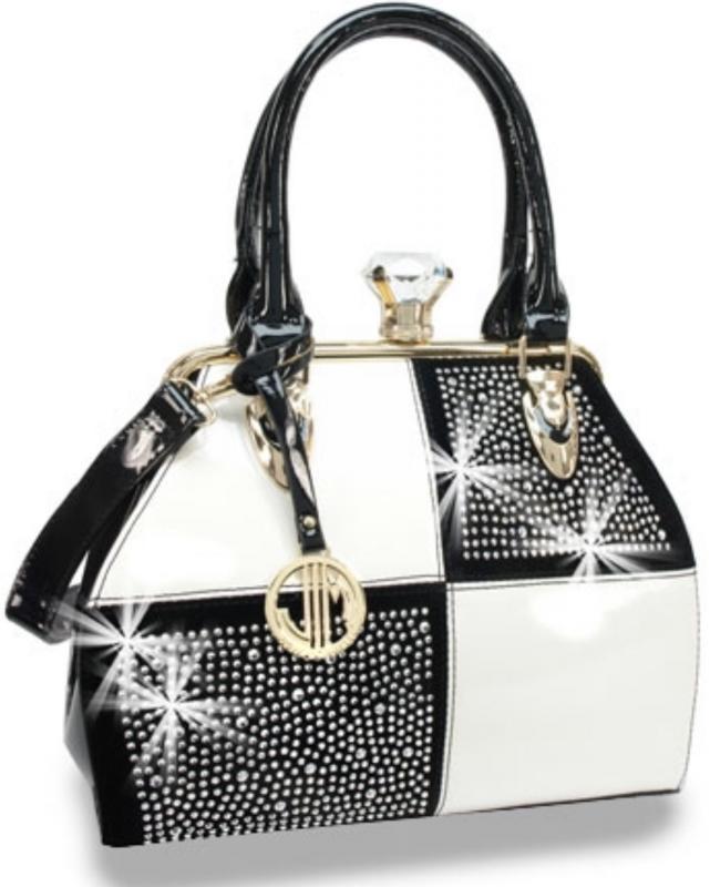 Elegant väska med blingbling