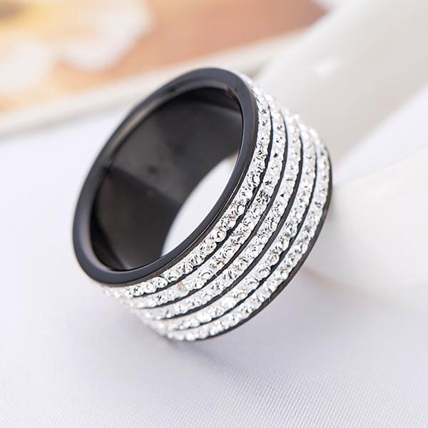Black Gun Ring