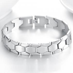 Armband i rostfritt stål, Länk