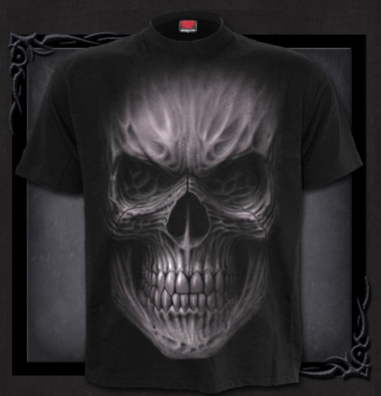 T-shirt, Spiral, Death Rage