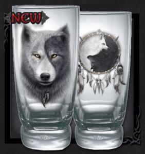 Coola dricksglas ifrån Spiral, Wolf chi