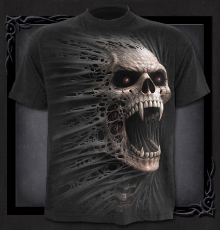 T-shirt, Spiral, Cast Out