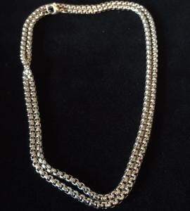 Halsband i rostfritt stål, 2mm