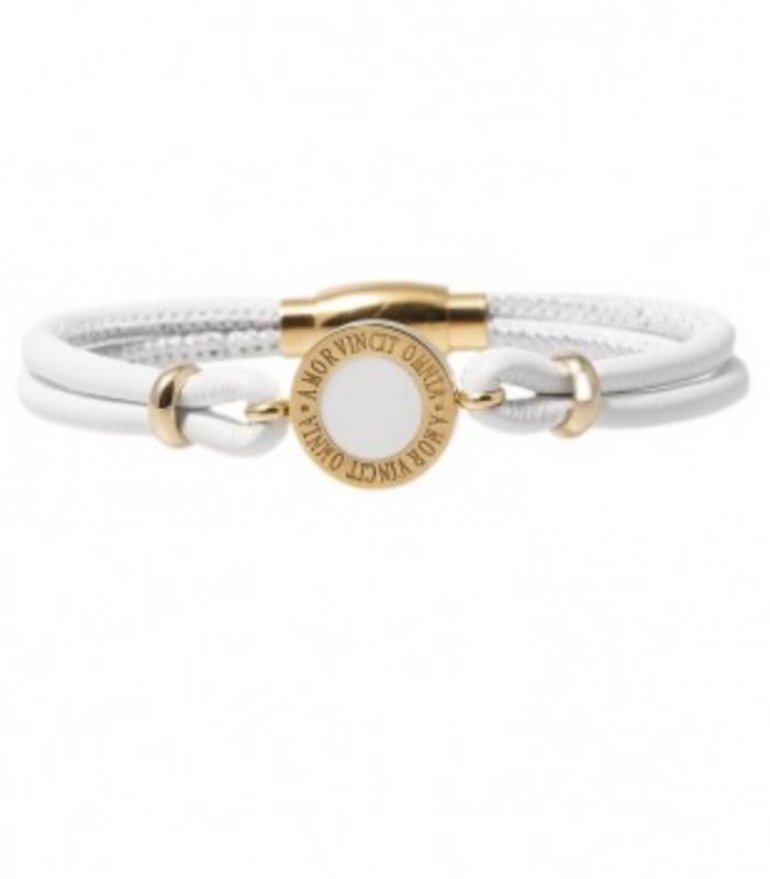 Designarmband, Capricorn Gold/White