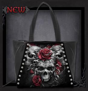 Häftig väska, Spiral, Skulls n Roses
