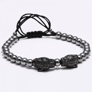 Designarmband Leopard,Black