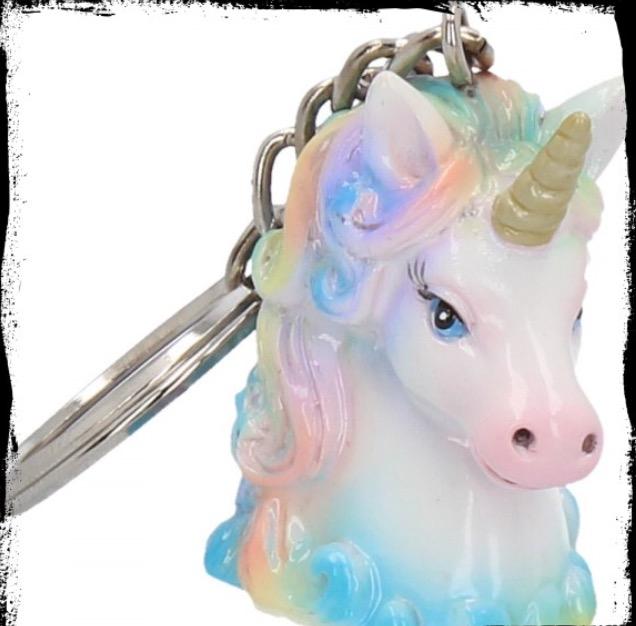 Nyckelring, Unicorn Enhörning