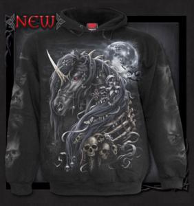 Hoodie ifrån Spiral, Dark Unicorn