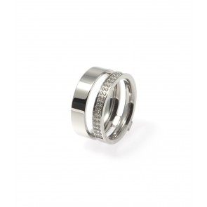 Design ring, Inez Steel
