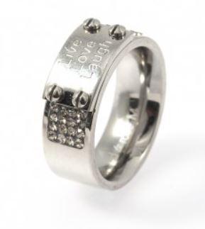 Ring, Luna Steel