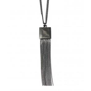 Halsband Maya Hematite
