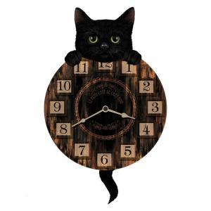 Väggklocka, Katt, Kitten Tick´n