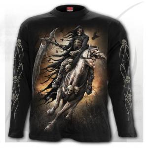 T-shirt, Långärmad, Spiral, Pale Rider