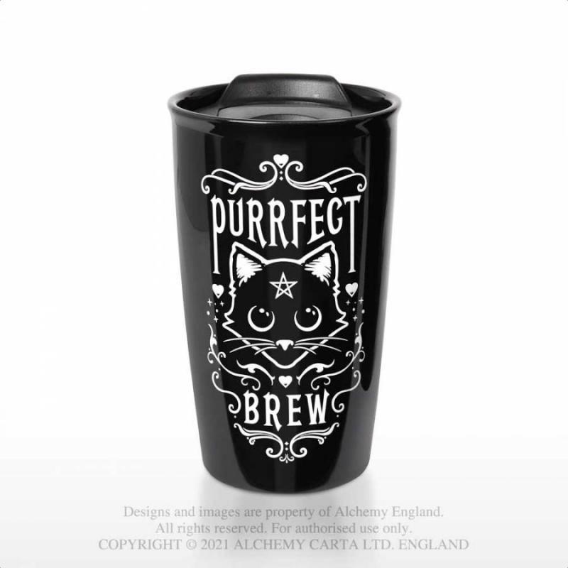 Häftig termosmugg, Purrfect Brew