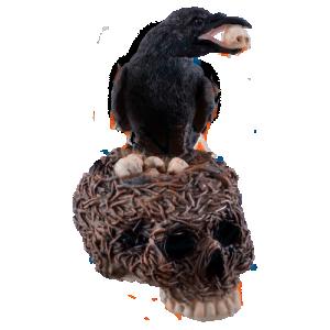 Dekoration Ravens Nest