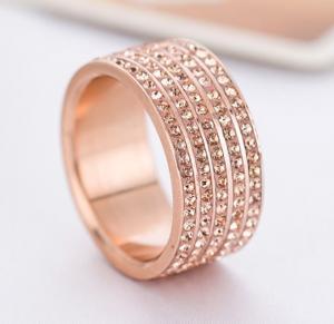 Ring, Daisy Rosé, Rostfritt
