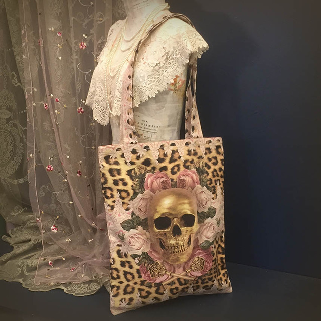 Tygväska/Shoppingbag, Leopard