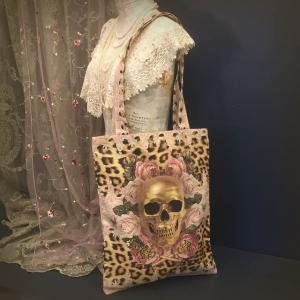 Tygpåse/Shoppingbag, Leopard