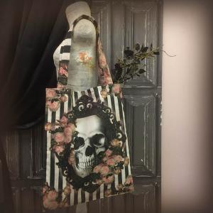 Tygväska/Shoppingbag, Victorian Gothic