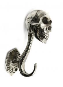 Döskalle Krok Silver 17 cm