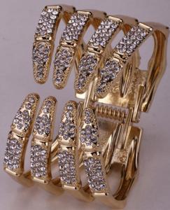 Skelett armband, Guld