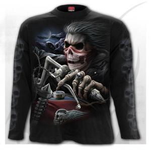 T-shirt, Långärmad, Spiral, Soul Rider