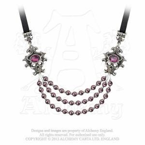 Designhalsband Palatine Pearls
