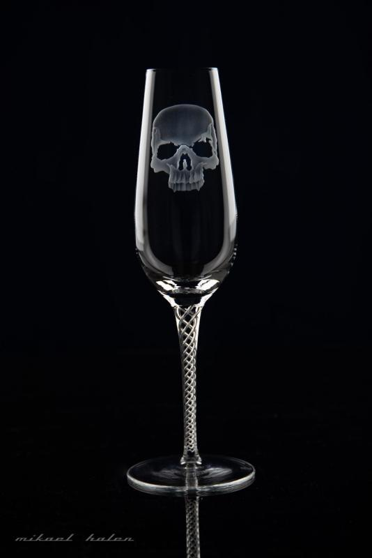 Design by DLE, Champagne Kristallglas