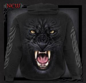 Hoodie från Spiral, Tribal Panther