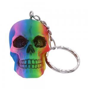 Nyckelring, Döskalle, Rainbow