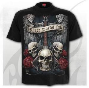 Unspoken, T-shirt, 2 Färger