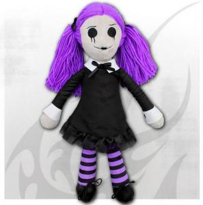 Cool Docka, VIOLA - THE GOTH RAG DOLL