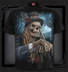 T-shirt, Spiral, VOODOO CATCHER
