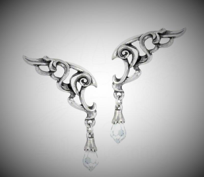 Design örhängen Wings of Eternity