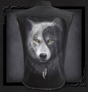 Rockskjorta, ärmlös, Wolf Chi