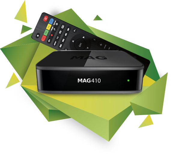 Mag 410 4K Android OTT Box