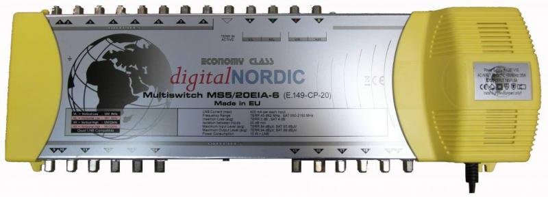 MS 5/in 20/out EIA Multiswitch