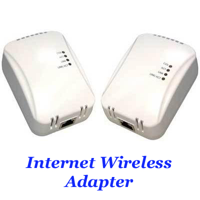 Powerline Network Adapter Kit (2 units) 85Mbps for Electricity sockets