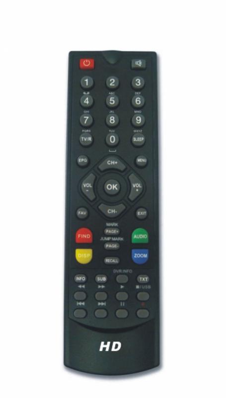 Remote Hyro 180 HD FTA