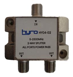 Hyro Splitter 2-way