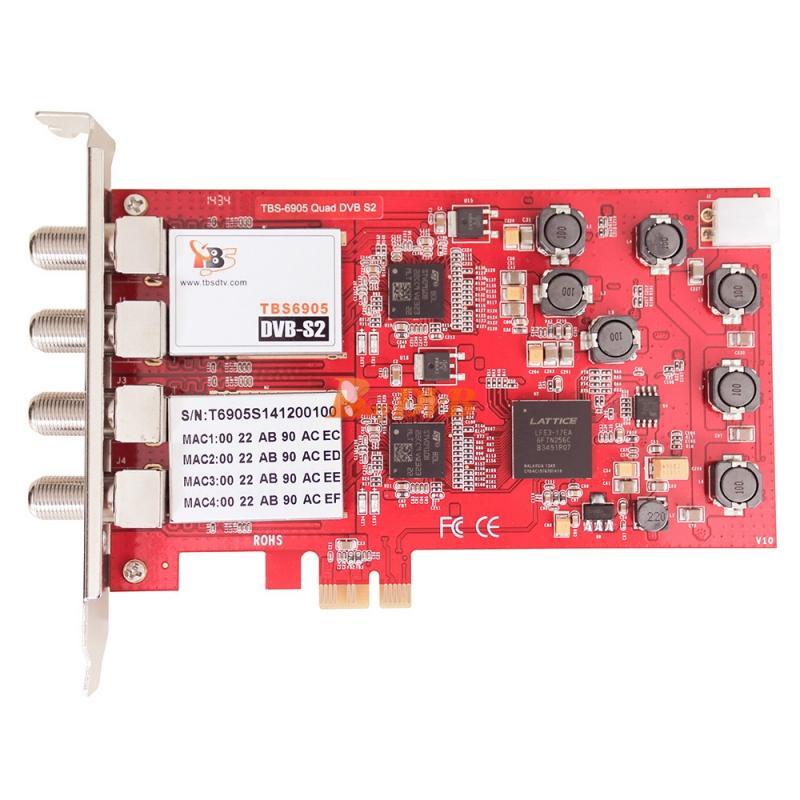 PCIe card S2-Tuner Quad