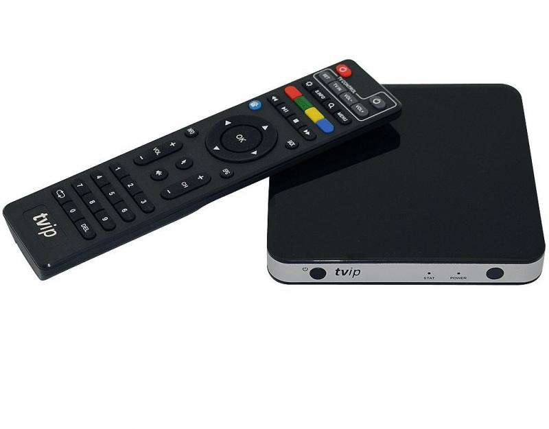 TVIP S-Box v.501 HEVC Full HD Linux Multimedia Player Wif