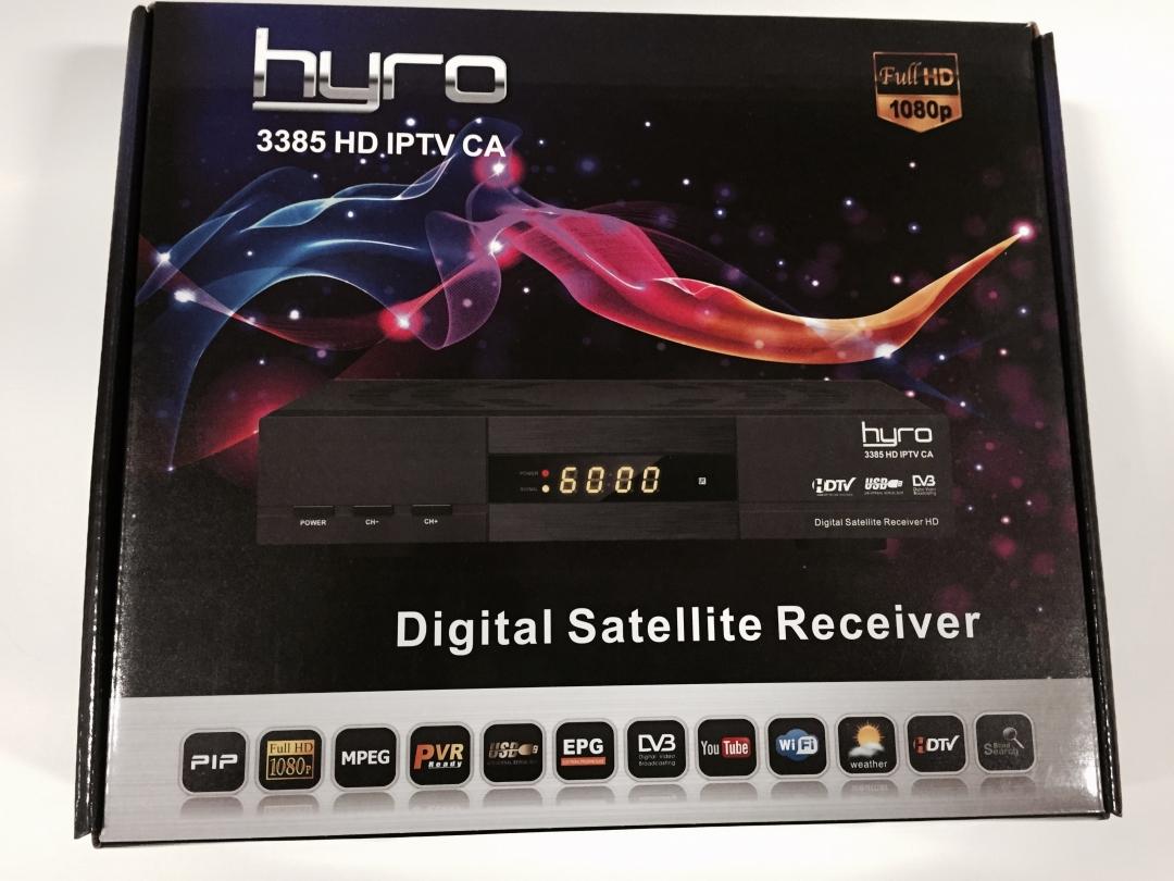 Hyro3385 HD FTA CA IPTV WIFI