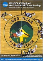 1989 NCAA Division 1 Men´s Basketball Championship - Michigan vs. Seton Hall